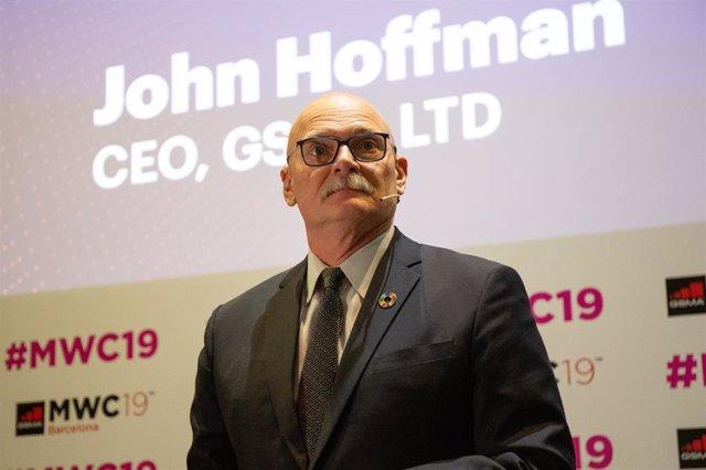El conseller delegat de GSMA, John Hoffman, en una foto d'arxiu.