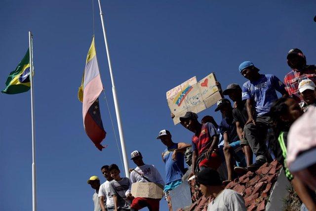 Tensión en frontera Brasil con Venezuela