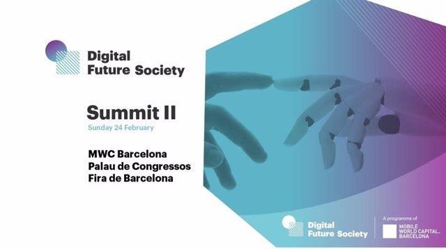 Cartell de la segona trobada de Digital Future Society