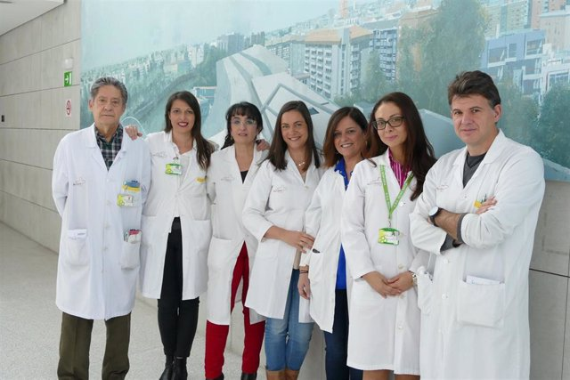 Algunos de los miembros del grupo IRAS/PROA del hospital Reina Sofía de Murcia