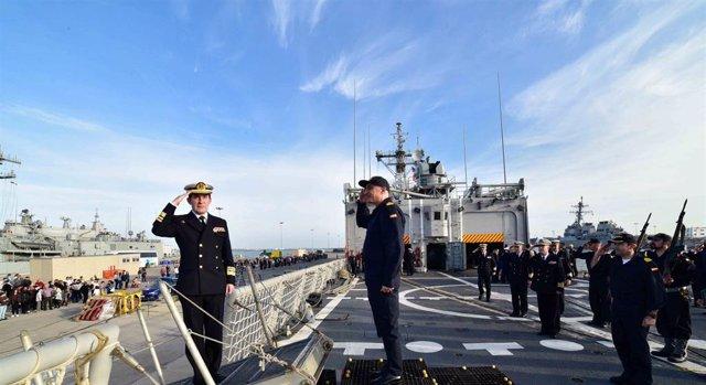 Un Almirante almeriense lidera la Operación de lucha contra la piratería en el Í