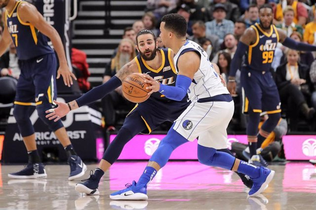 Ricky Rubio Utah Jazz Dallas Mavericks Jalen Brunson NBA