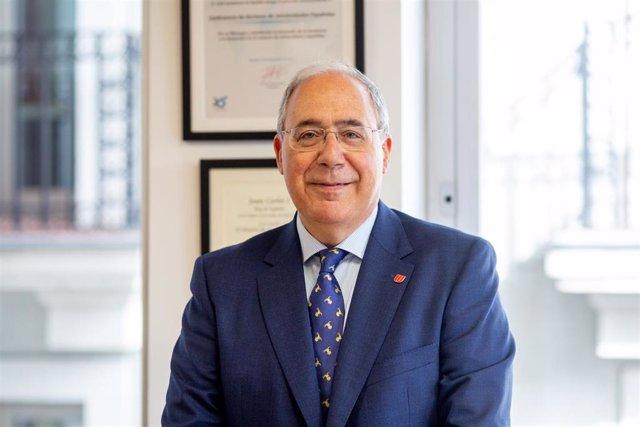 Entrevista de Europa Press al presidente de la Conferencia de Rectores de Univer