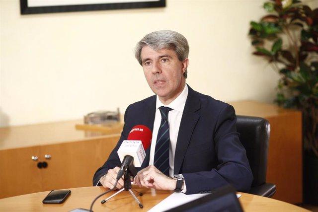 Entrevista de Europa Press al presidente de la Comunidad de Madrid, Ángel Garrid