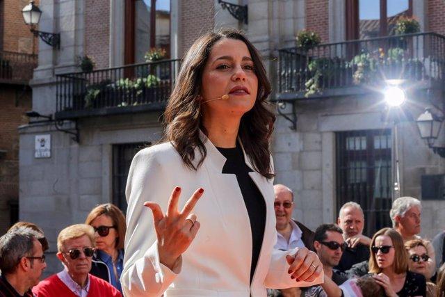 Acte de Ciutadans a Madrid