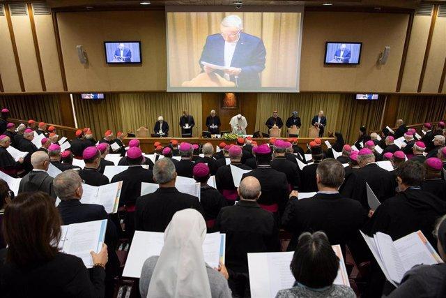 El Papa en la cumbre antipederastia