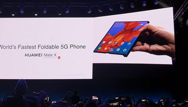 Mat X, l'aposta d'Huawei per als dispositius plegables i l'era 5