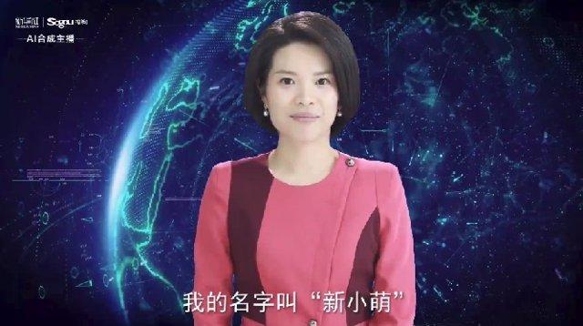 China desarrolla una presentadora de informativos robótica que funciona con Inte