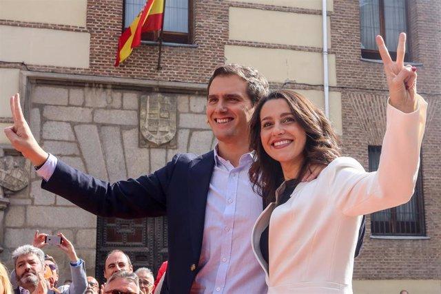 Acto de Ciudadanos en Madrid