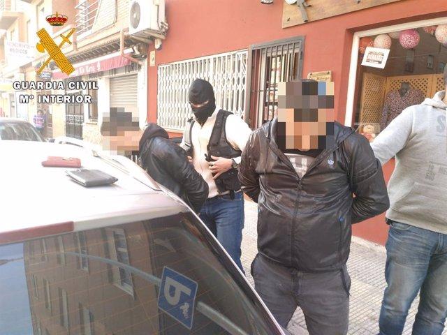La Guardia Civil de Ávila detiene al autor de robos de móviles en diez provincia