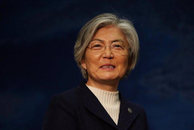 La ministra de Asuntos Exteriores de Corea del Sur, Kang Kyung Wha