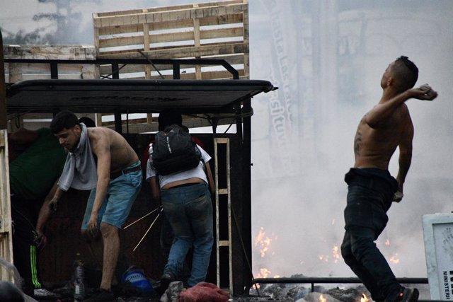 Enfrentamientos a la frontera entre Venezuela y Colombia