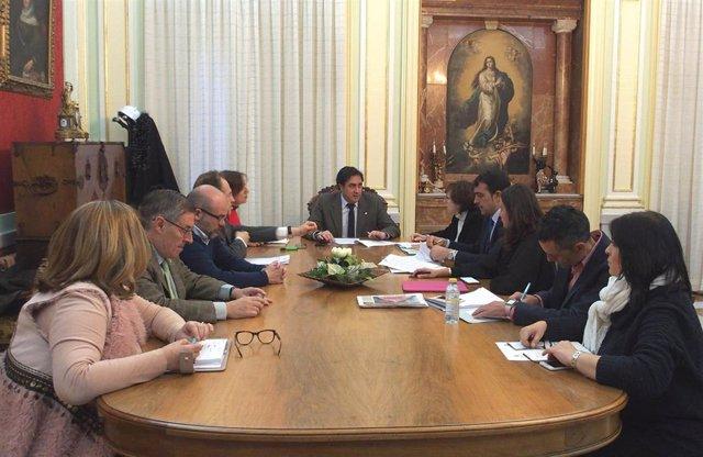 La Junta Gobierno Local aprueba el convenio de cesión de la Casa Zavala