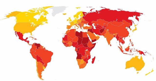 Indice de Percepción de la Corrupción de Transparencia Internacional