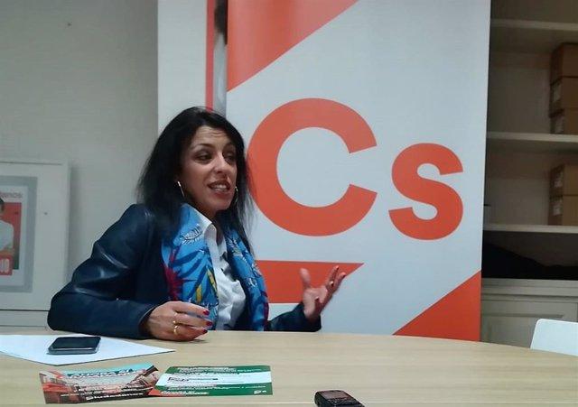 La portavoz de Cs en Almería, Marta Bosquet