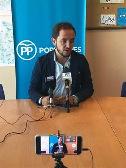 Portavoz del PP en Fuenlabrada, Sergio López