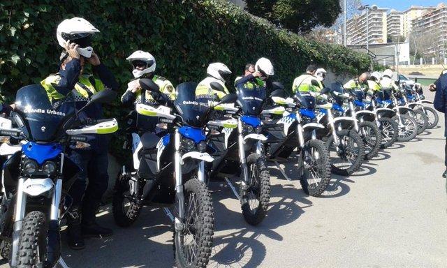 La Urbana de Barcelona sustituye la mayoría de sus motos de montaña por un model