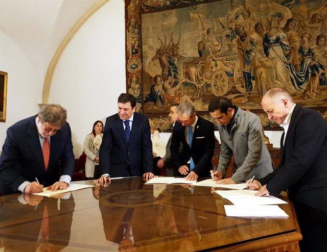 Salamanca acogerá la primera cátedra de España en prevención de riesgos laborale