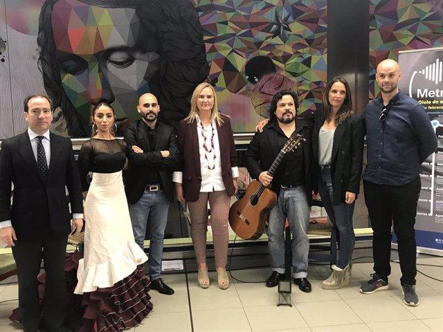 La Comunidad presenta 'Metro Vibra',  un ciclo de actuaciones en directo en dife