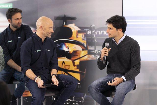 Carlos Sainz Presentación Movistar F-1