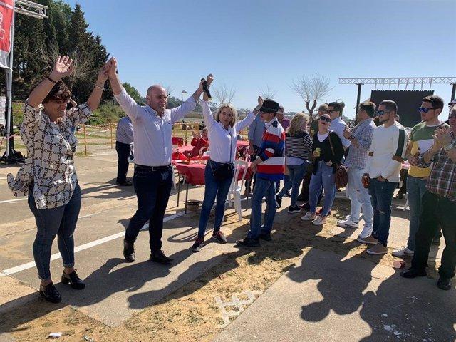 Alexis Landero (PSOE) presenta su candidatura a la Alcaldía de Cartaya (Huelva)