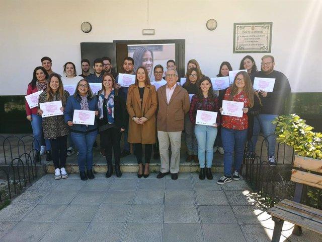 CádizAlDía.- La Diputación galardona a los 19 participantes del curso PICE de in