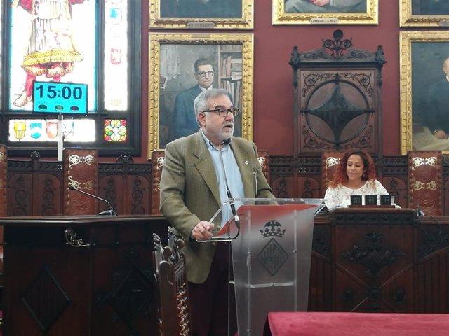 Josep Lluis Bauzá, portavoz de Cs Palma