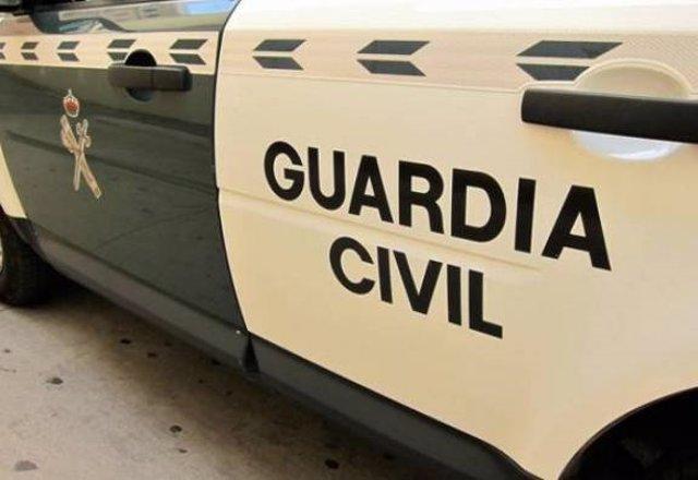 Coche Guardia Civil foto de archivo