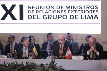 ONG piden al Grupo de Lima medidas dialogadas ante la crisis de Venezuela