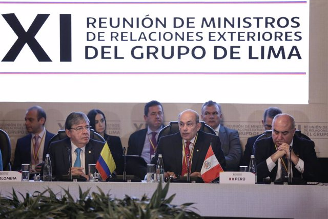 Lima Group meeting in Bogota