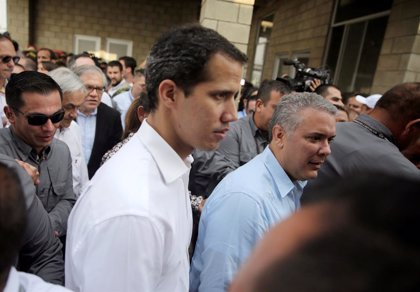 "Guaidó espera lograr ""hoy"" una solución a la crisis de Venezuela"