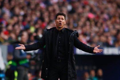 """La UEFA abre expediente a Simeone por su """"conducta inapropiada"""" ante la Juventus"""