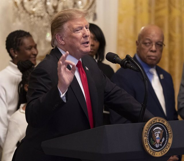 Trump hosts Black History Month reception at White House