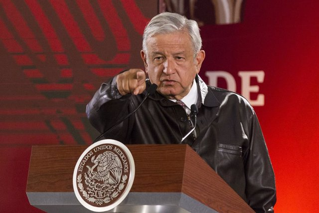 Mexican President Obrador press conference in Mexico