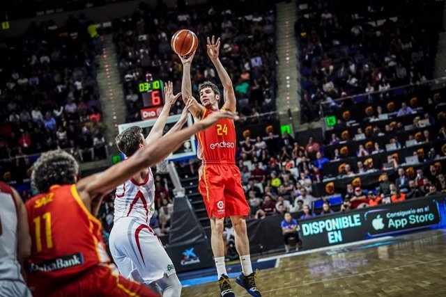 Darío Brizuela España Turquía selección española de baloncesto