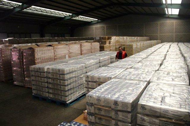 Cruz Roja distribuye 474 toneladas de alimentos en la provincia de Santa Cruz de
