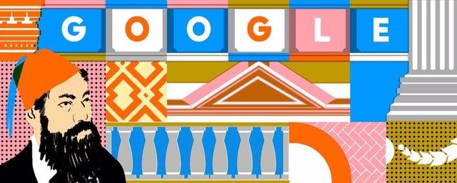 Google homenajea al arquitecto mexicano Antonio Rivas Mercado en el 166 aniversa