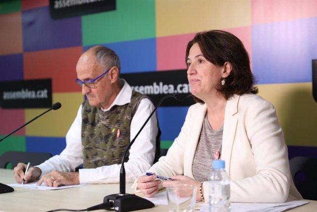 La presidenta de l'ANC, Elisenda Paluzie