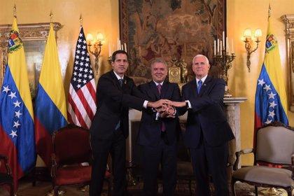 """Guaidó declara ante el Grupo de Lima que """"es el momento de actuar"""" en Venezuela"""