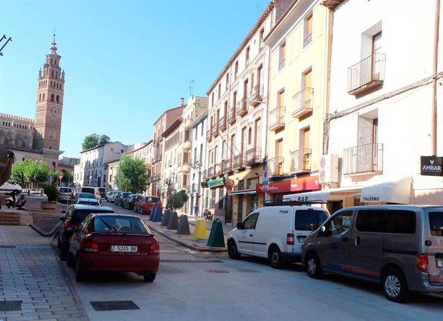 Adjudicada la urbanización de la parte baja de la plaza de la Seo de Tarazona