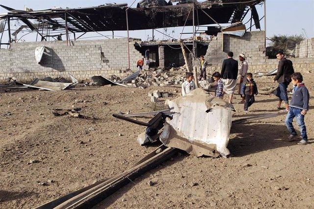 Ataques aéreos en Yemen