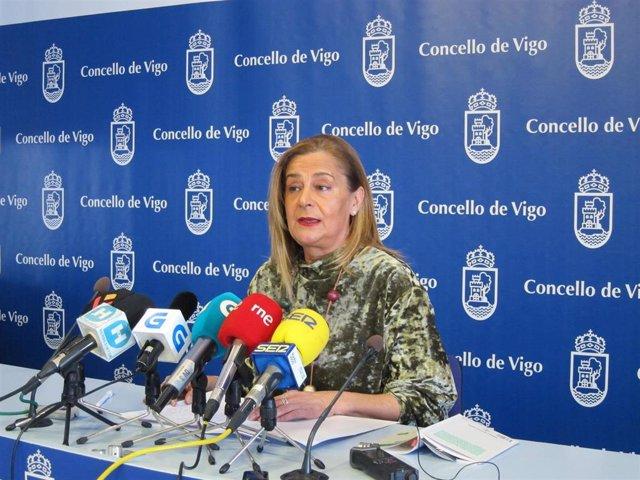 """Carmela Silva anuncia una querella contra el PP por """"difamaciones"""" sobre el ench"""