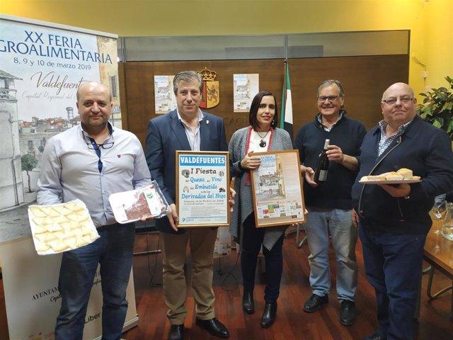 Presentación de la XX Feria Agroalimentaria de Valdefuentes (Cáceres)