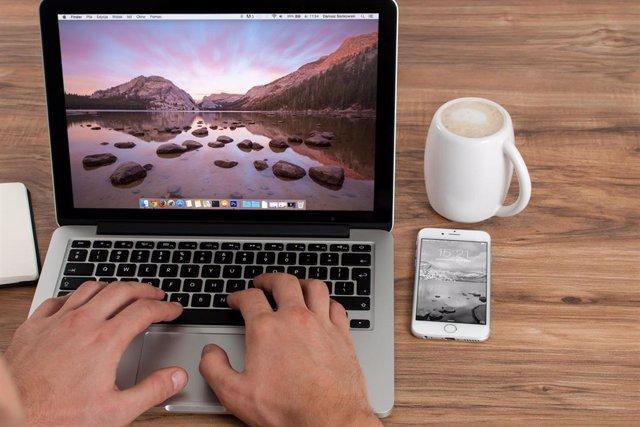 Escritorio de ordenador Mac Macintosh Apple