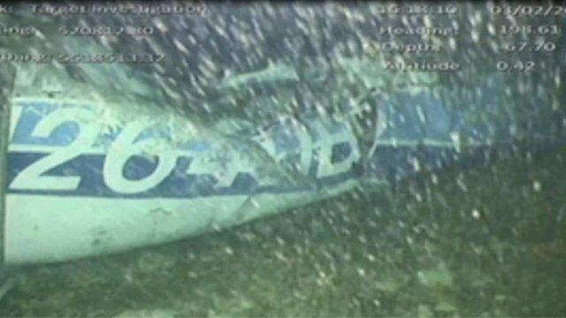 Recuperan el cuerpo hallado en los restos del avión de Emiliano Sala