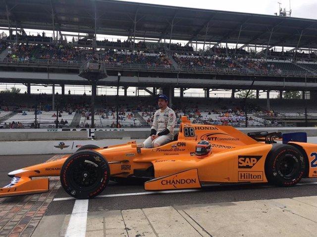 Fernando Alonso Indy 500 Millas Indianápolis