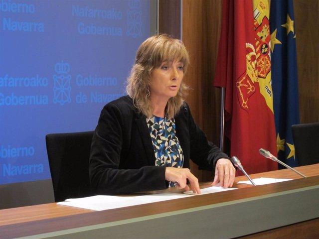 Ana Ollo, consejera de Relaciones Ciudadanas e Institucionales del Gobierno de N