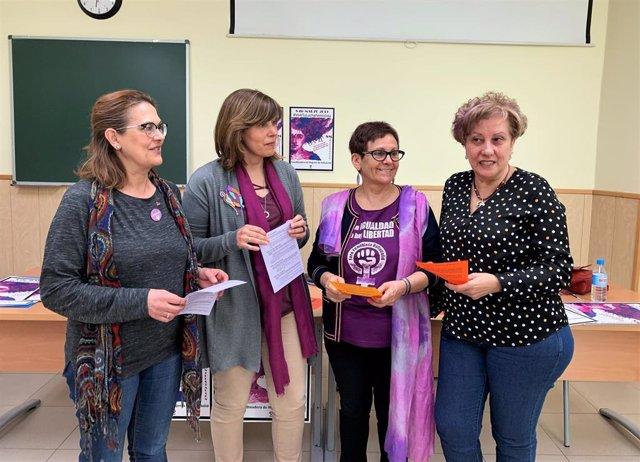 Rueda de prensa Coordinadora de Mujeres de Valladolid sobre el 8M