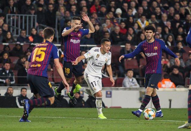 Soccer: Copa del Rey - FC Barcelona v Real Madrid