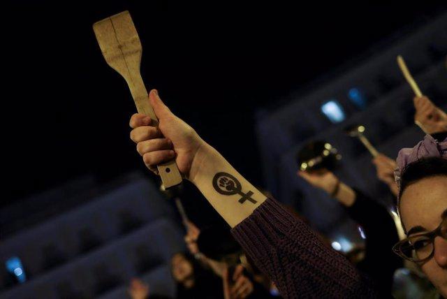 Arranca la huelga feminista en Madrid